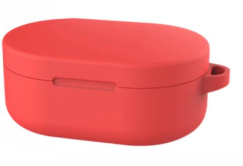 Чехол на Xiaomi Airdots силиконовый (красный)