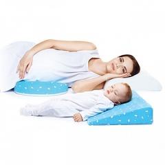 Ортопедическая подушка-трансформер для беременных и младенцев 2-в-1 TRELAX CLIN