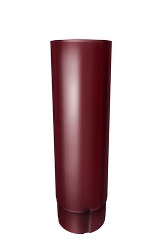 Труба круглая ф90-3м (RAL 3005-винно-красный)