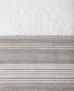 Набор полотенец 3 шт Devilla Brest Сплошная полоса белый