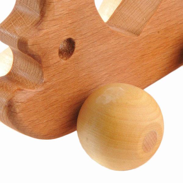 Каталка деревянная