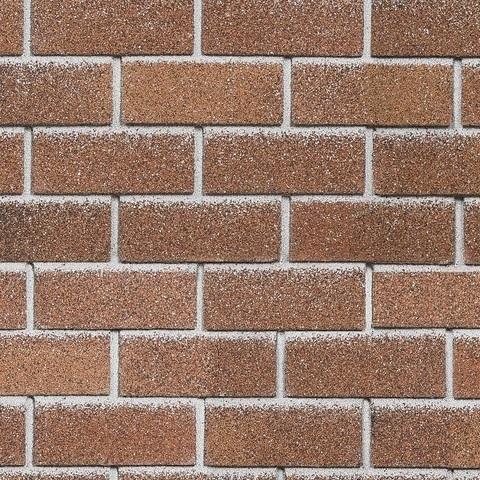 Фасадная плитка Технониколь Hauberk красный кирпич 1000х250 мм
