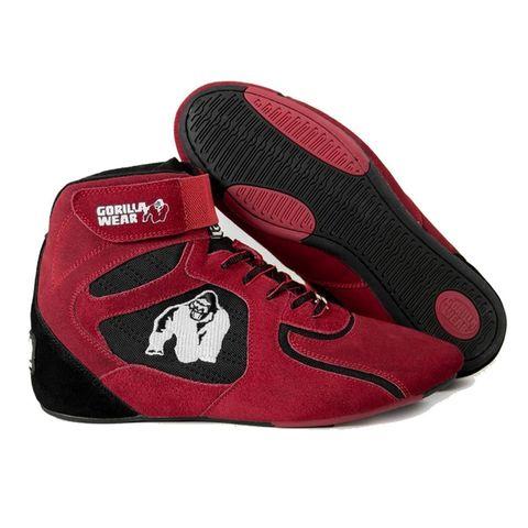Женские кроссовки Gorilla wear Chicago (Red&Black)