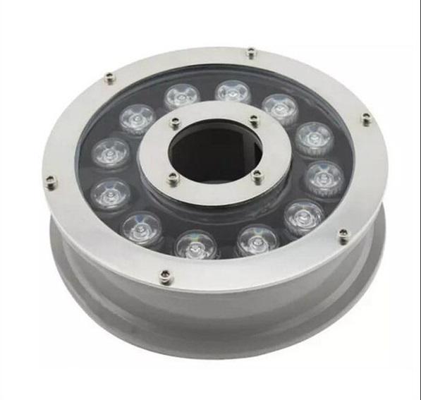 LED Подсветка для фонтана 12w. AC 24V (центральный монтаж) RGB
