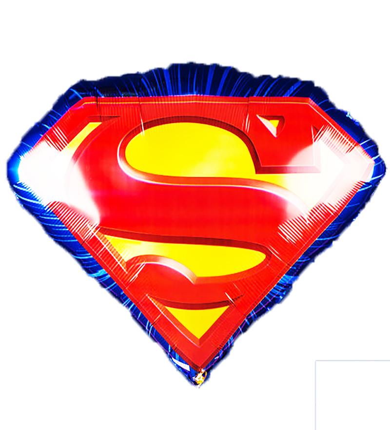 Бетмен и Супермен Фольгированный шар Супермен Эмблема shar_folga_supermen_figura.jpg