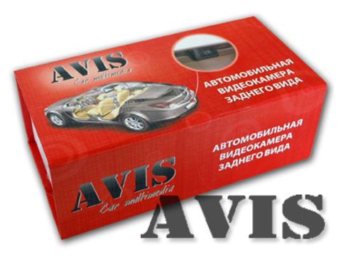 Универсальная камера заднего вида AVIS Electronics AVS310CPR (130 LED)