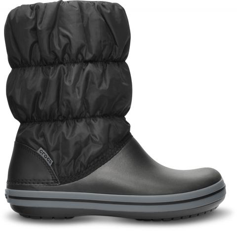 Зимние дутики женские Women's Winter Puff Boot Black/Charcoal