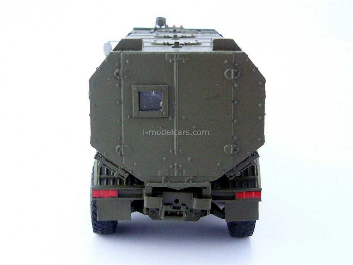 Ural-63095 Typhoon Modular armored car MRAP handmade 1:43