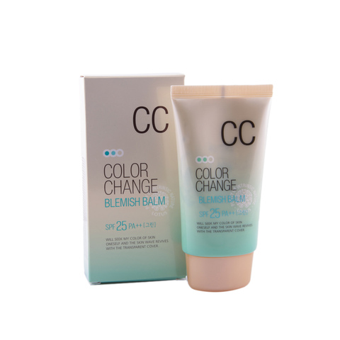 СС крем Welcos Color Change Blemish Balm SPF25 PA++ 50ml.