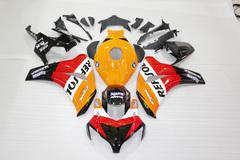 Комплект пластика для мотоцикла Honda CBR 1000RR 08-11 Repsol оранжевый