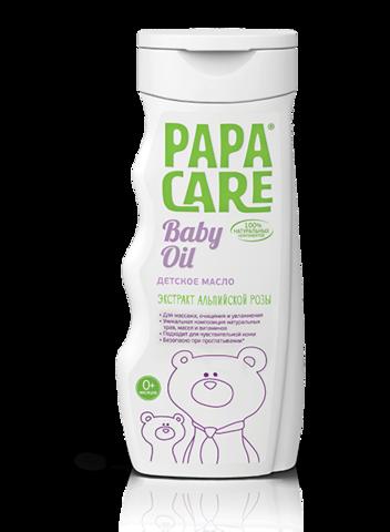 PAPA CARE. Детское масло для массажа и увлажнения 200 мл
