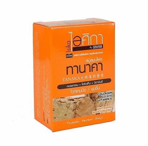 Мыло с пудрой Танака, витамином Е и коэнзимом Q10, 100 гр., SUPAPORN.
