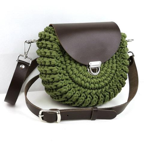 "Комплект для сумочки Орео ""Темно-коричневый"" N1"