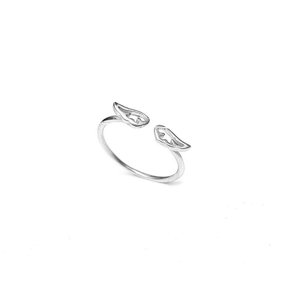 Angel wings ring, Sterling Silver