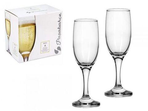 Фужеры-шампанское BISTRO GOLD 6*4