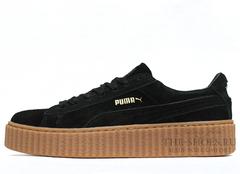 Кеды Женские Puma X Rihanna Creeper Black Begie