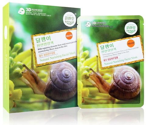 Тканевая маска с экстрактом секреции улитки (Корея)