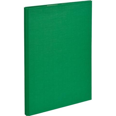 Планшет д/бумаг Attache A4 зеленый с верхней створкой