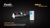 Купить Яркий компактный фонарь Fenix PD12 T6, 360 люмен (модель 34011) по доступной цене