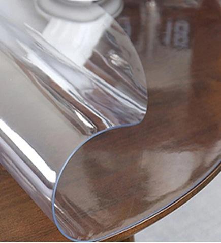 Скатерть круглая прозрачная  105 см. 1 мм.