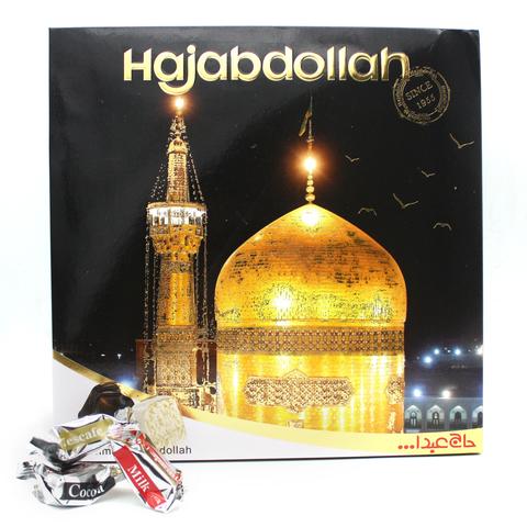 """Пишмание с молочным и ванильным вкусом в глазури """"Храм"""", Hajabdollah, 400 г"""