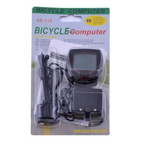 Велокомпьютер SB-318/2016 (блистер)