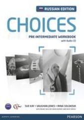 Choices Russia Pre-Intermediate Workbook & Audio CD Pack