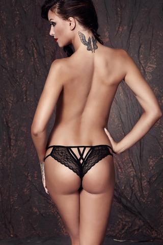Кружевные трусики бразилиана Anais Connie вид сзади