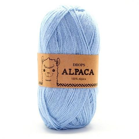 Пряжа Drops Alpaca 6205 светло-голубой
