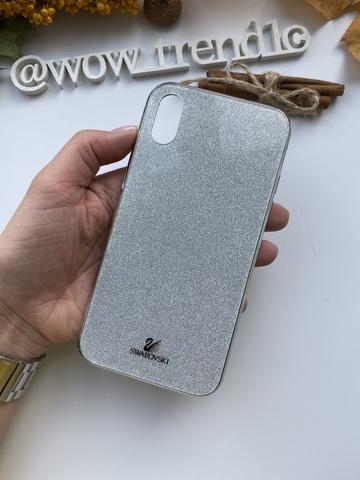 Чехол iPhone 11 Pro Swarovski Case /silver/