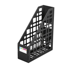Вертикальный накопитель СТАММ 85 мм сборный 1 отдел.черный ЛТ12