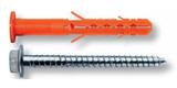 Дюбель фасадный Mungo MBRK-STB 10x100 с бортиком и стандартной рабочей зоной (большая упаковка)