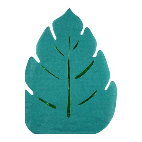 Салфетки в форме пальмового листа