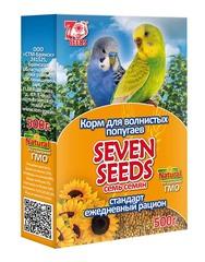 Корм для волнистых попугаев стандарт Seven Seeds