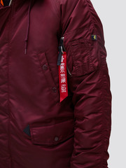 Парка Alpha Industries N-3B Slim Fit Parka Maroon