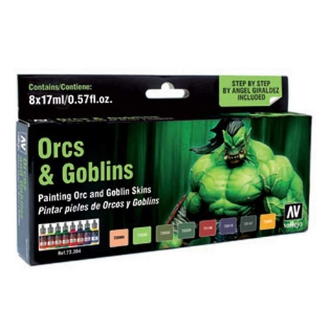 Game Color Orcs & Goblins (8) by Angel Giraldez 17 ml.