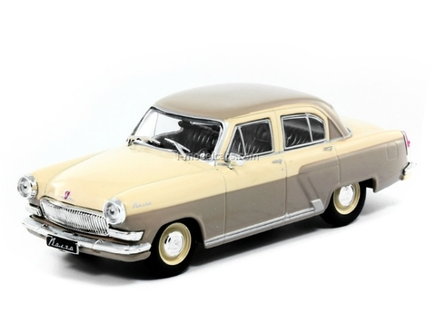 GAZ-21R Volga 1962 brown 1:43 DeAgostini Auto Legends USSR Best #9