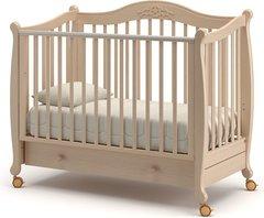 Кровать детская Моника выбеленный бук
