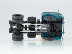 KAZ-608V with semitrailer ODAZ-794 blue-turquoise 1:43 Start Scale Models (SSM)
