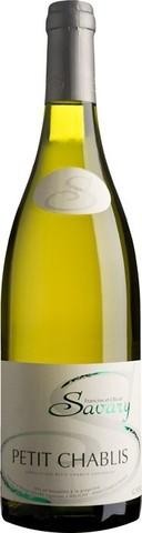 Вино Savary, Petit Chablis AOC, 0.75 л