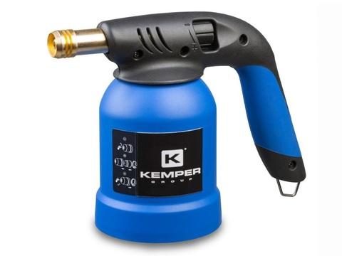 Лампа паяльная  газовая  KEMPER KE2018 (для прокал.бал.)