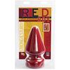 Огромная анальная пробка Red Boy - The Challenge Butt Plug (10 х 15,5 см.)