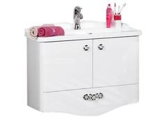 Мебель для ванной комнаты Акватон Венеция 75 белая с зеркалом
