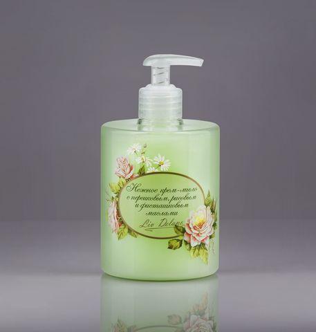 Liv delano Organic Oils Collection Нежное крем-мыло с персиковым, рисовым и фисташковым маслами 500г