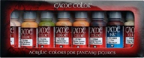 Game Color Skin Tones (8) 17 ml.