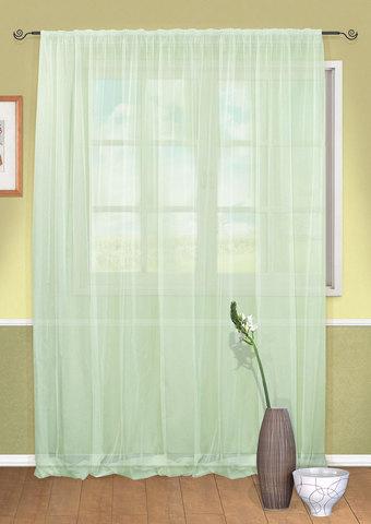 Готовая штора вуаль Patra светлый мятный