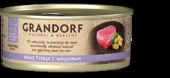 Grandorf влажный корм для кошек филе тунца с мидиями 70 г