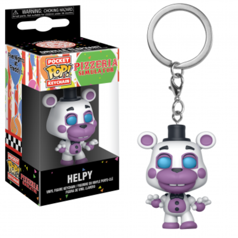 Брелок Funko Pocket POP! Keychain: FNAF:Pizza Sim: Helpy 32157-PDQ