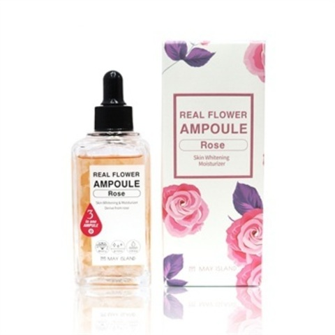 MAY ISLAND Real Flower Ampoule Rose Сыворотка для лица 100мл