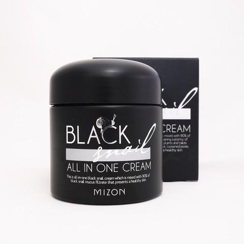 MIZON SNAIL Крем многофункциональный с экстрактом черной улитки Black snail all one cream